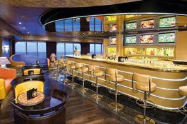 Holland America Cruises Alaska - Noordam Sports Bar