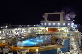 Princess Cruises - Coral Princess Pool Deck