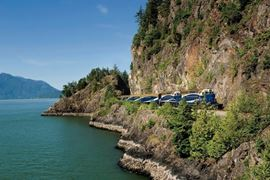 Rocky Mountaineer Train Coastal Route View