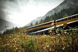 Rocky Mountaineer Passing View