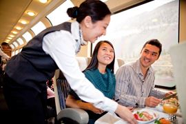 Rocky Mountaineer Silver Leaf Service Images