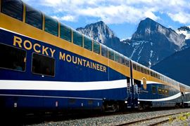 Rocky Mountaineer Gold Leaf Service Images